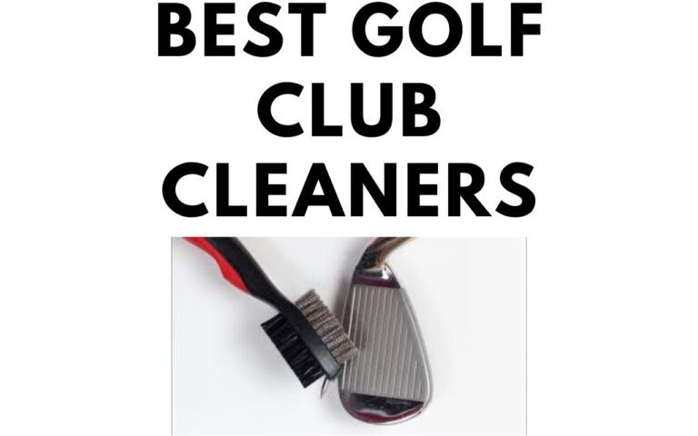 best golf club cleaners